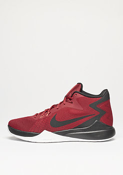 Basketballschuh Zoom Evidence university red/metallic silver/black