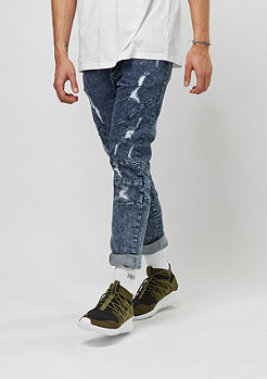C&S ALLDD Pants Paneled Denim blue