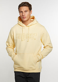 Hooded-Sweatshirt Basic Logo yolk yellow