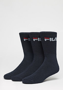 FILA Men Sport Socks 3-Pack F9505 navy