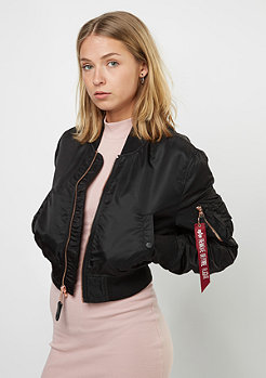 Alpha Industries Übergangsjacke MA-1 PM Cropped black/copper