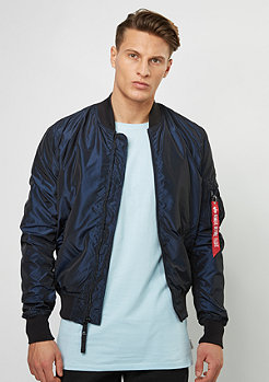 Alpha Industries Übergangsjacke MA-1 LW Iridium blue