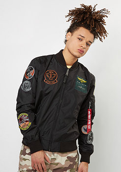 Alpha Industries Übergangsjacke ME 1 TT Patch black