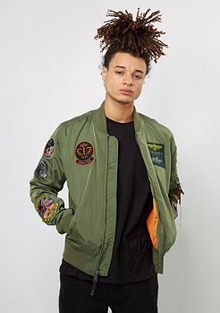 Alpha Industries Übergangsjacke ME 1 TT Patch sage
