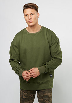 Sixth June Sweatshirt Oversized Crewneck khaki