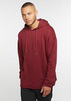 Hooded-Sweatshirt Oversized Hoodie burgundy