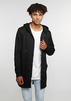 Hooded-Zipper black