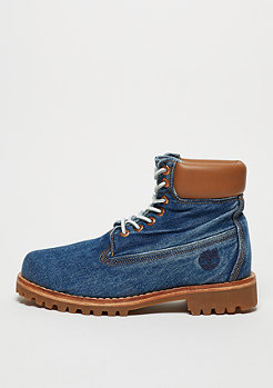 Timberland Stiefel Heritage 6 faded white oak denim