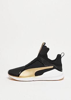 Schuh Fierce Gold black