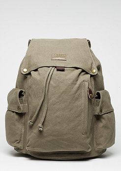 Rucksack Washed Canvas olive