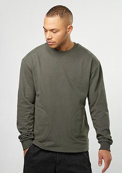 Flatbush Sweat Crew beluga olive
