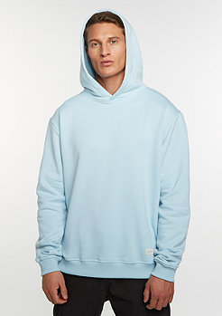 Hooded-Sweatshirt Crossed light blue