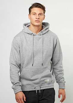 Flatbush Hooded-Sweatshirt Laced heather grey
