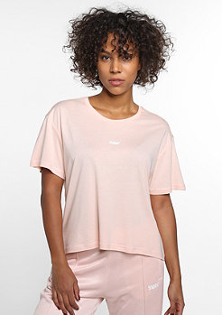 SNIPES T-Shirt Basic rose