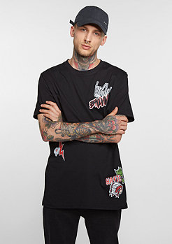 T-Shirt BRKLYN Patch black