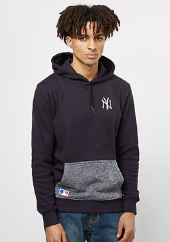 Hooded-Sweatshirt Concrete MLB New York Yankees navy
