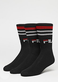 FILA Unisex Street Socks 3-Pack F9090 black