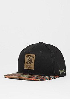 Snapback-Cap 6P Aztec black