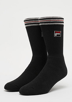 FILA Unisex Vintage Socks 1-Pair F1701 black