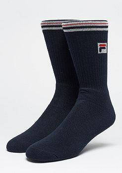 Unisex Vintage Socks 1-Pair F1701 navy