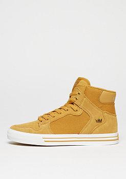 Schuh Vaider amber gold/white