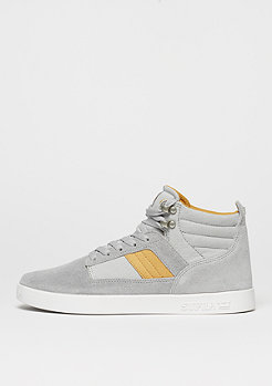 Supra Schuh Bandit light grey/amber gold/white
