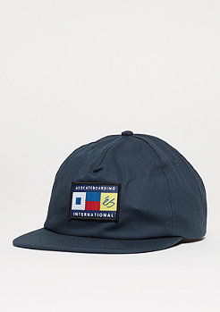 Snapback-Cap Nautical Hat navy