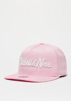 Snapback-Cap Pinscript pink