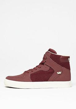 Skateschuh Vaider burgundy/white