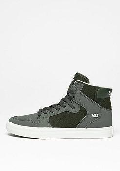 Skateschuh Vaider dark olive/white
