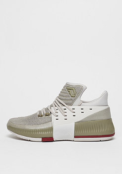 adidas Basketballschuh Dame 3 West Campus pearl grey/collegiate burgundy/trace cargo