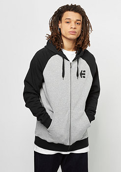 Hooded-Zipper E-Corp grey/heather