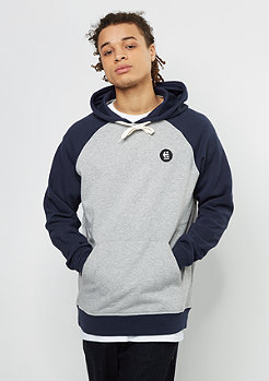 Hooded-Sweatshirt E-Base grey/heather