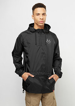 Übergangsjacke Packable Anorak black