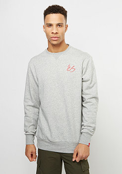 Sweatshirt Script Fleece grey/heather