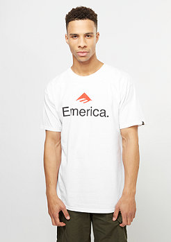 Emerica Skateboard Logo white