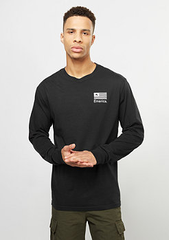 Longsleeve Pure Flag black