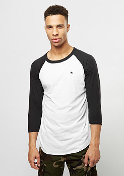 Longsleeve Triangle Raglan black/white
