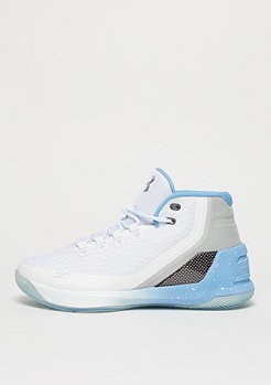 Basketballschuh Curry 3 Birthday white/opal blue/black