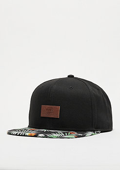Snapback-Cap Allover It black decay palm