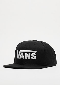Snapback-Cap Drop V black/white