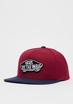 Snapback-Cap Classic Patch Rhubarb/dress blue