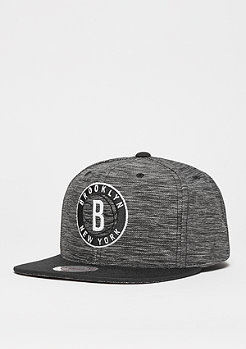 Snapback-Cap Prime Knit NBA Brooklyn Nets black/black
