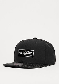 Snapback-Cap Ultimate black