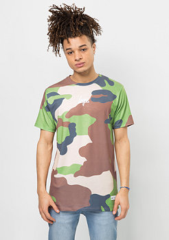 T-Shirt Rainforest Camo multicolor