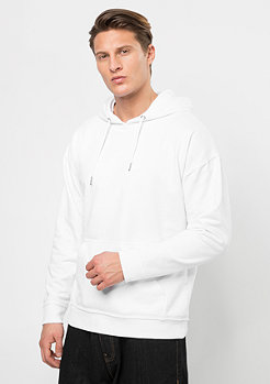 Hooded-Sweatshirt Basic Sweat white