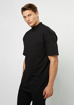 T-Shirt Oversized Turtleneck black