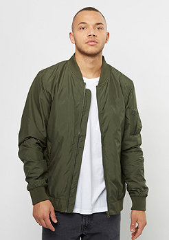 Light Bomber Jacket dark olive