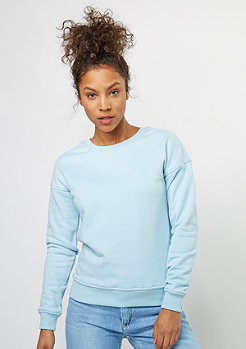 Sweatshirt Ladies Sweat Crew baby blue