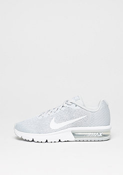 Laufschuh Air Max Sequent 2 pure platinum/white/wolf grey